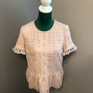 Kate Spade ♠️ Pink Blouse | Pre-owned